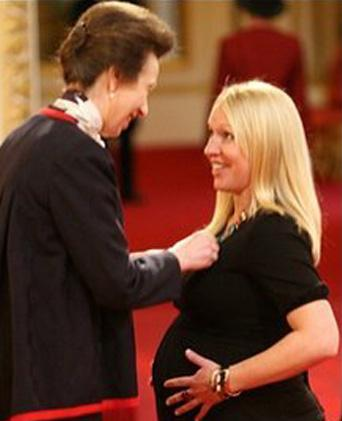 meeting princess anne gail emms mbe the official website